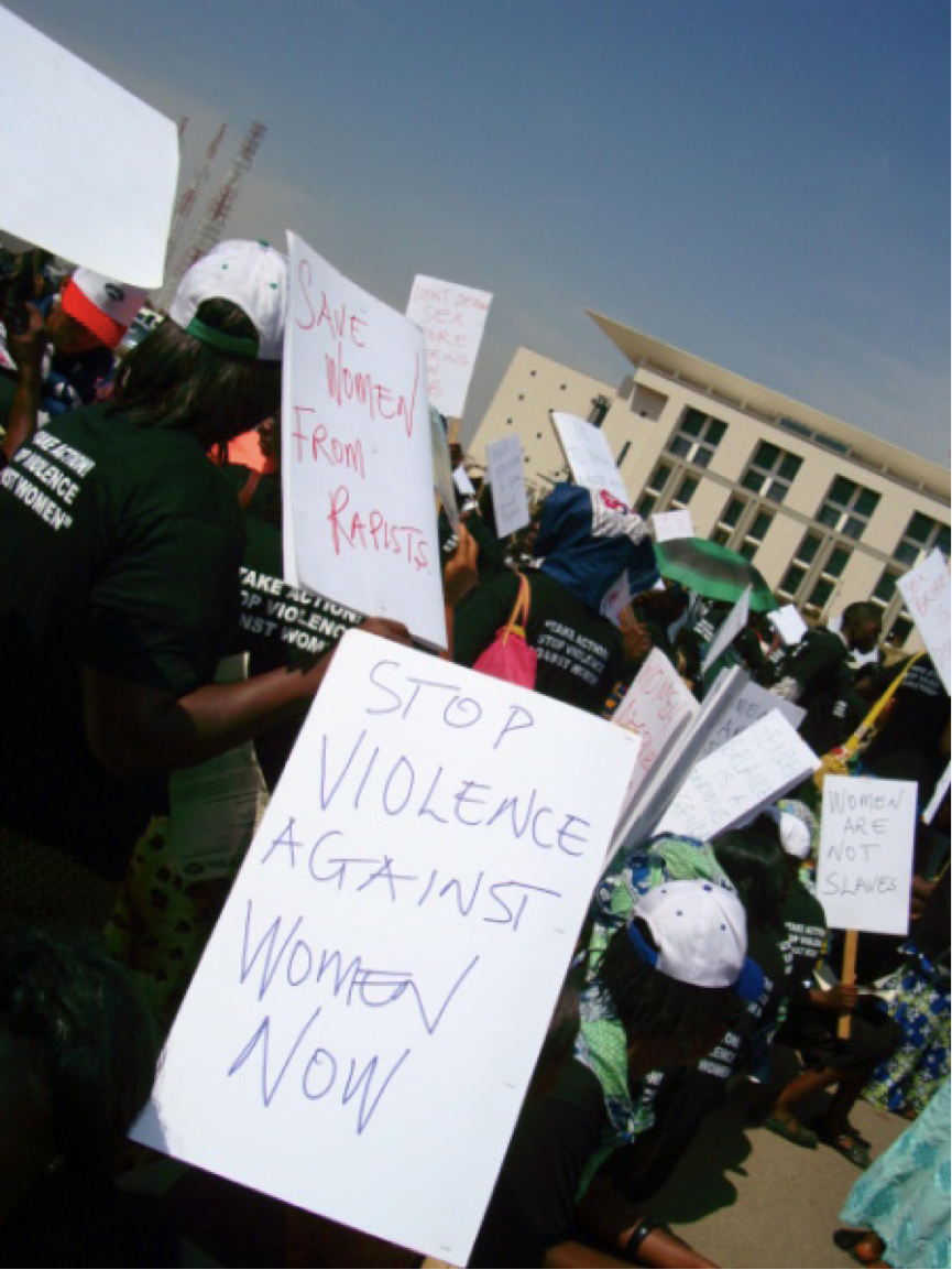 Nigeria landmark legislation on violence