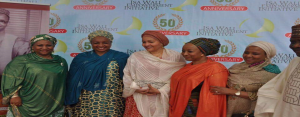 isa wali- hon min of environment & UN dep Sec Gen, Hajiya Amina Mohammed with maryam Uwais, her sister Fati Wali- Abdulrahaman and other relations