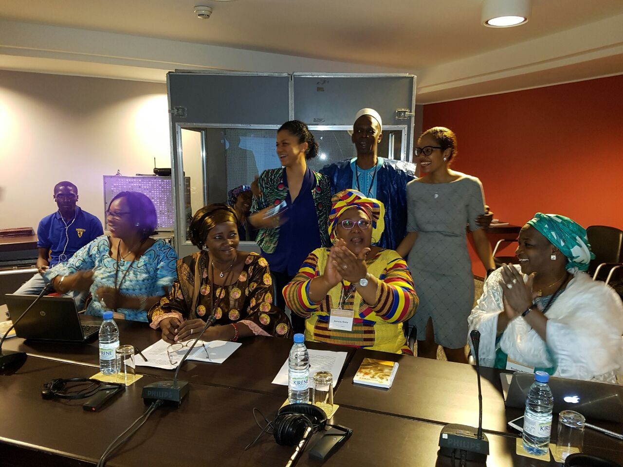 WRAPA Sec Gen attends wing of trust Africa civil society retreat in Dakar