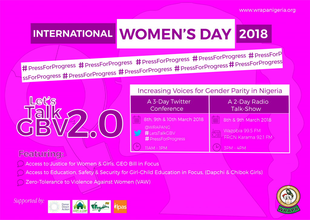 WRAPA IWD 2018 - Overview e-Banner