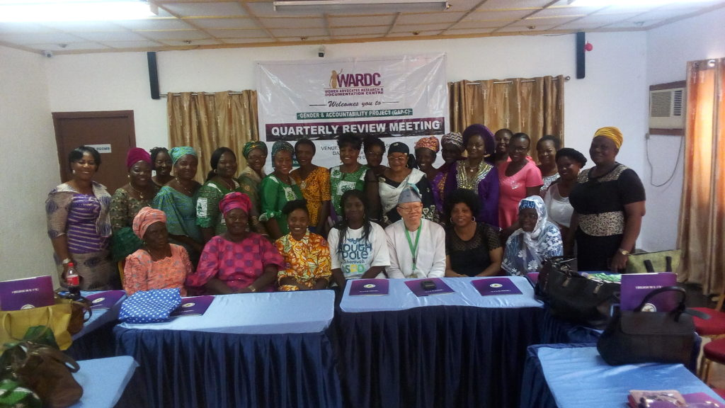 WRADC quarterly review meeting - Gender & Accountability Project